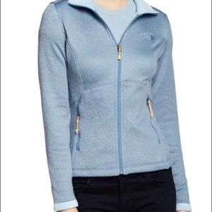 The North Face Agave Zipper Up Jacket Cool Blue